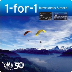 Chan Brothers |1-for-1 travel deals + Up to $50 off selected packages