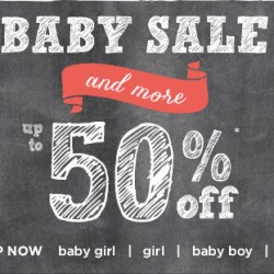 GYMBOREE | Baby sale and more at 50% off