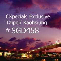 Cathay Pacific | CXpecials Exclusive Fare to Taiwan