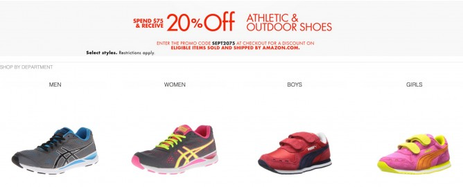 amazon promotional code for footwear