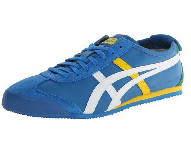 6fe3ef7ad64fd Amazon | Onitsuka Tiger Mexico 66 Fashion Shoe,Mid Blue/White - 👑BQ ...