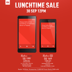 Mi Singapore | Lunch Time Sale 30 Sept 2014