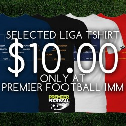 Premier Football | Selected Football tee shirt from S$10
