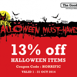 The Good Things | 13% off Halloween items