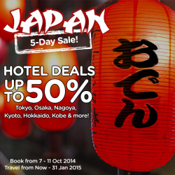 AirAsiaGo | Japan 5-Day Sale hotels up to 50% off