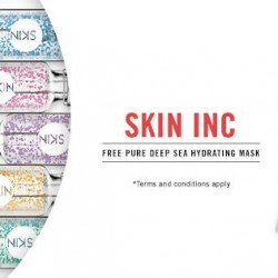 luxola   FREE skin inc Pure Deep Sea Hydrating Mask with S$140 spent