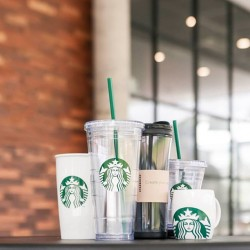 Starbucks | 15% off any classic merchandise