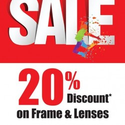 Better Vision | 20% off on all frames and lenses
