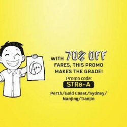 Scoot | post-exams holiday promotion