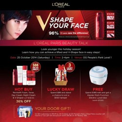 L'oreal | Beauty Talk with free door gift