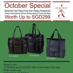 Porter International   FREE Limited Tote Bag with purchase
