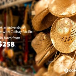 OCBC | Cathay Pacific airfare from S$258
