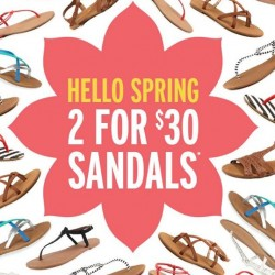 Rubi | 2 for $30 Sandals sale