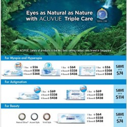 Better Vision | ACUEVE October promotion