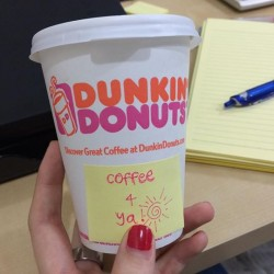 Dunkin' Donuts | DD' coffee for $1.50