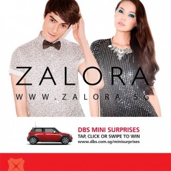 DBS   15% off storewide on ZALORA with promo code
