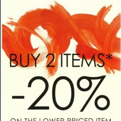 Promod | buy 2 items and get 20% off