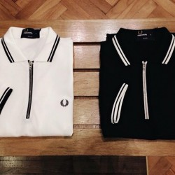 Fred Perry | 20% off The Zip Placket Shirt