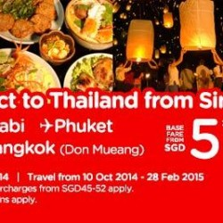 AirAsia | Fly Directly to Thailand from S$5