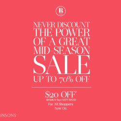 Robinsons | Up to 70% off mid-season sale