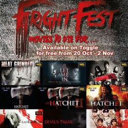 Toggle | FREE movies for Fright Fest