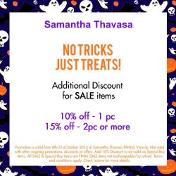 Samantha Thavasa | Up to extra 15% off sale items