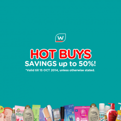 Watsons   Weekly special buy from 8 Oct. 2014