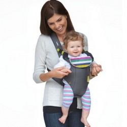 Amazon | Infantino Breathe Vented Carrier, Grey