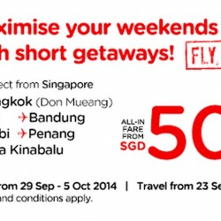 Air Asia | Maximise your weekends with short getaways! FLY NOW!