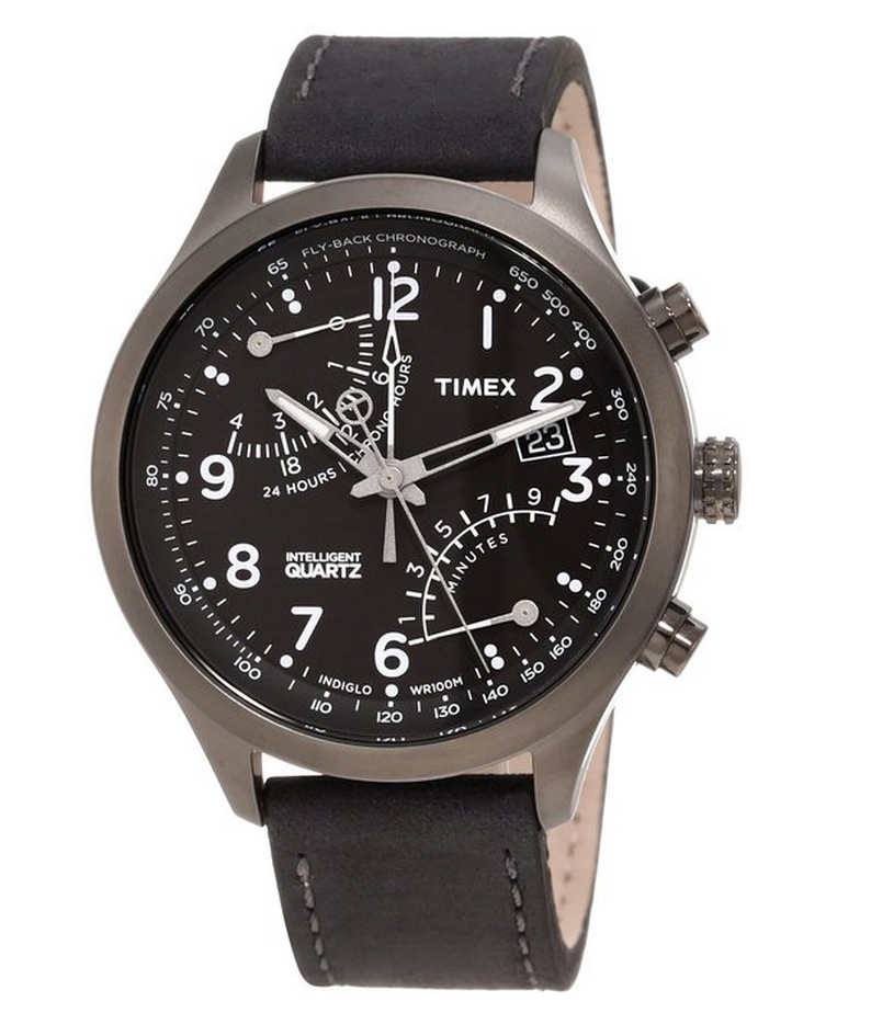 Amazon offers Timex Men's T2N930DH Intelligent Quartz Fly Back Chronograph Watch for US $63.99 with US