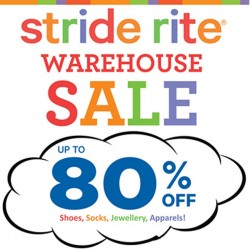 Stride Rite Warehouse Sale 2014 @ Tan Boon Liat Building