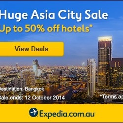 Expedia | Huge Asia City Sale Up to 50% Off hotels
