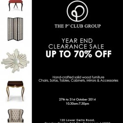 The P' Club | Handcrafted Furniture Year End Clearance Sale