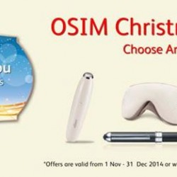 OSIM | Christmas Gift Sets from $68