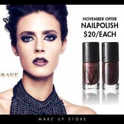 Make Up Store | All nail polishes at $20 each