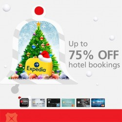 DBS | 75% off hotel bookings with Expedia