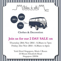 Château de Sable |  2 DAY SALE on clothes and decoration
