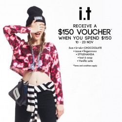 i.t Labels | $150 voucher with $150 spent
