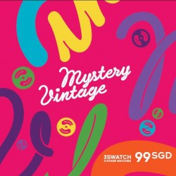 Swatch | Mystery Vintage Promo 3 watches set at $99