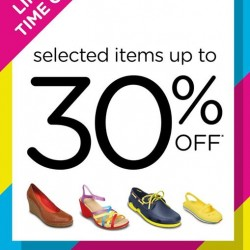 Crocs | up to 30% off on selected styles