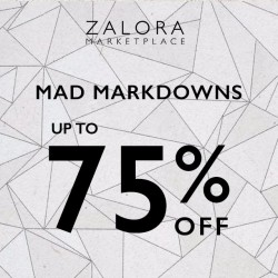 Zalora | Mad mark down up to 75% off
