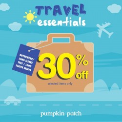 Pumpkin Patch | Travel Essentials Promotion