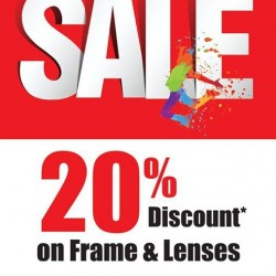BetterVision | 20% off on Frame and lenses