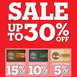 Timberland | The Timberland sale up to 30% off