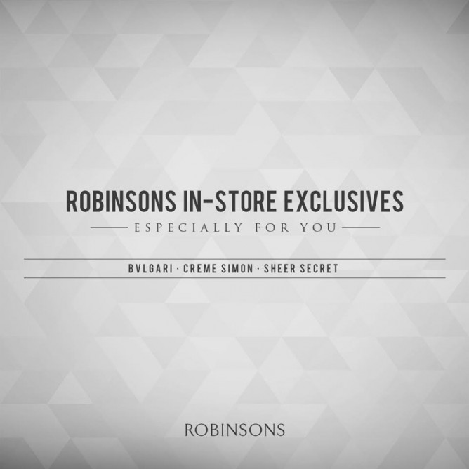 Robinsons offers November Events and Promotion. Enjoy and see you there! 0462d4cd723