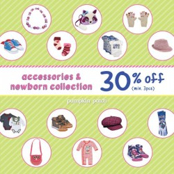Pumpkin Patch | 30% off accessories & newborn collection