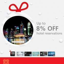 DBS   8% off hotel in New Zealand, Rome and Singapore on Agoda