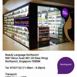 Beauty Language | Atrium SALE @ Northpoint