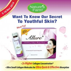 Nature's Farm | BioScience Allure+ Collagen promotion