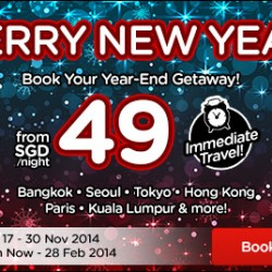 AirAsiaGo | Merry New Year promotion from $49